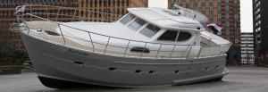 Fortuna Yacht, Zuidas