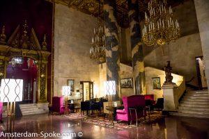 Hilton Moscow lobby