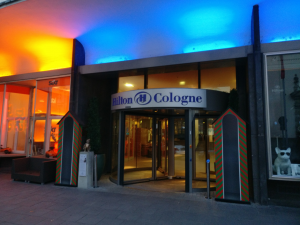 Hilton Cologne entrance